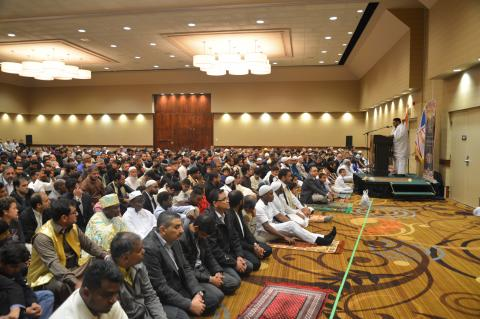 Picture of worshippers at Eid Al Adha Prayer